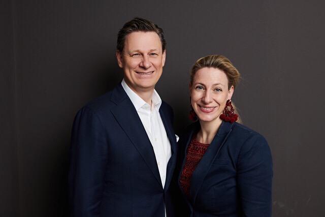 Pilar zu Salm und Ennio Graf von Pilati Inneneinrichtung München