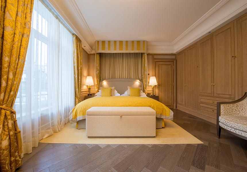Hotelzimmer einrichten Innenarchitekt