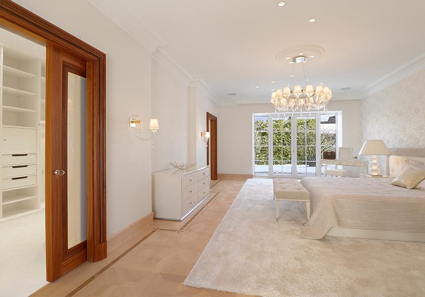 Villa Schlafzimmer einrichten