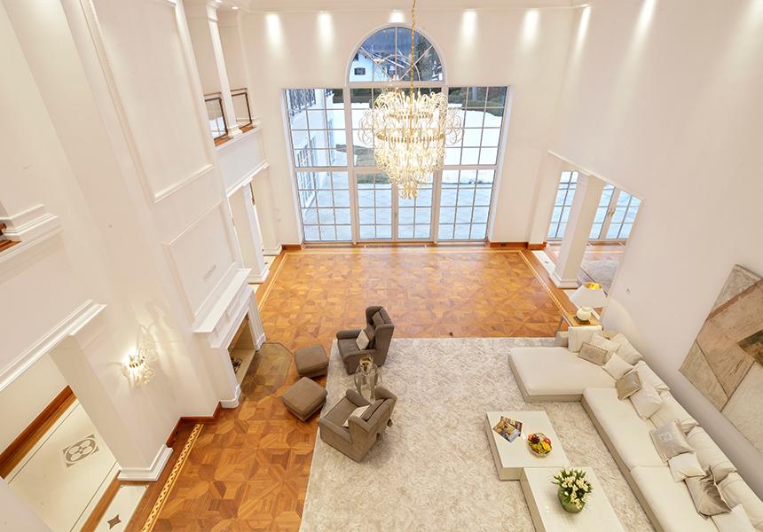 Pilati Villa Garmisch Luxus-Innenarchitektur