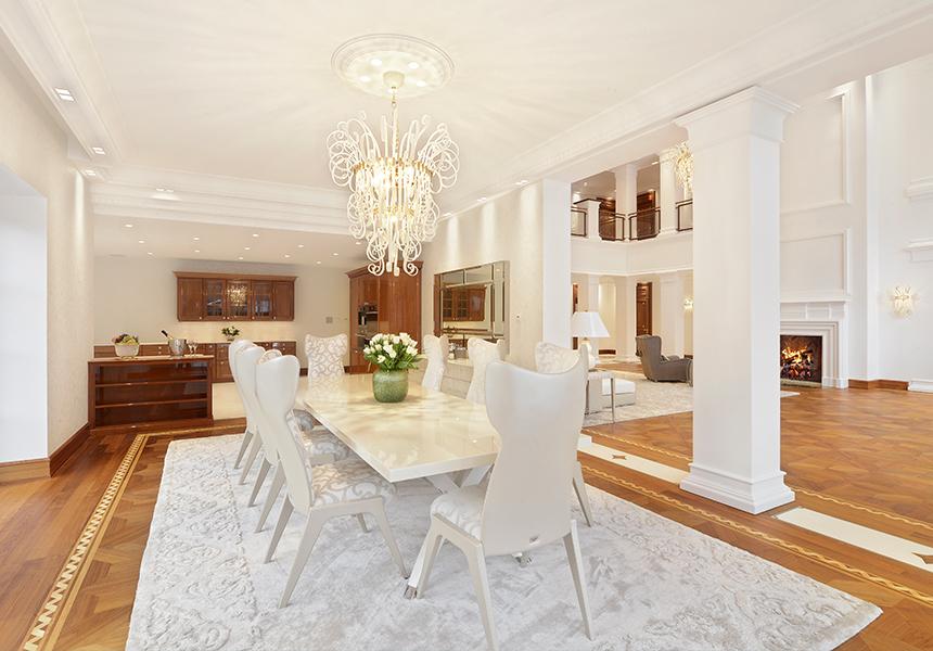 Pilati Villa luxuriös einrichten
