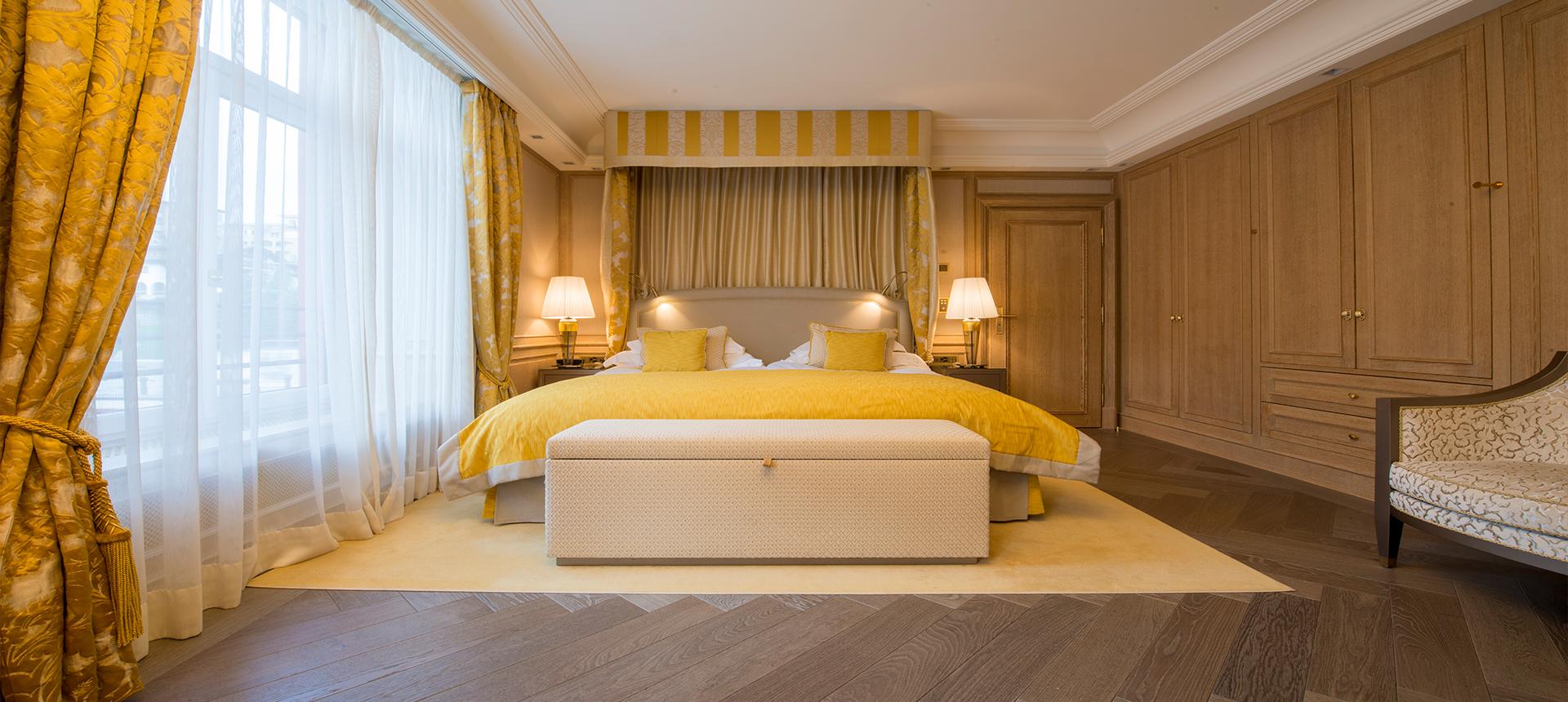 Hotelzimmer einrichten Pilati Grand Hotel Sankt Moritz