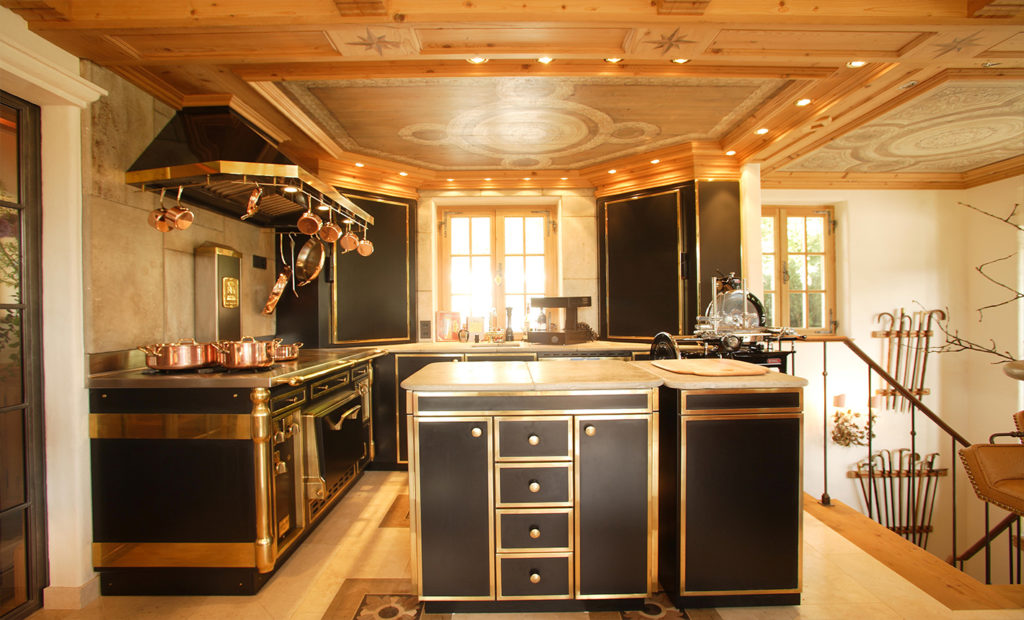 Chalet Einrichtung Küche Pilati