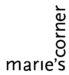 Logo Maries Corner