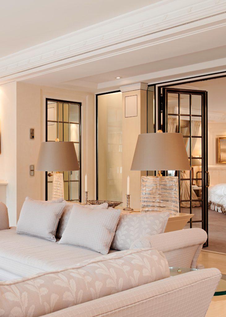 Villa einrichten Wohnzimmer
