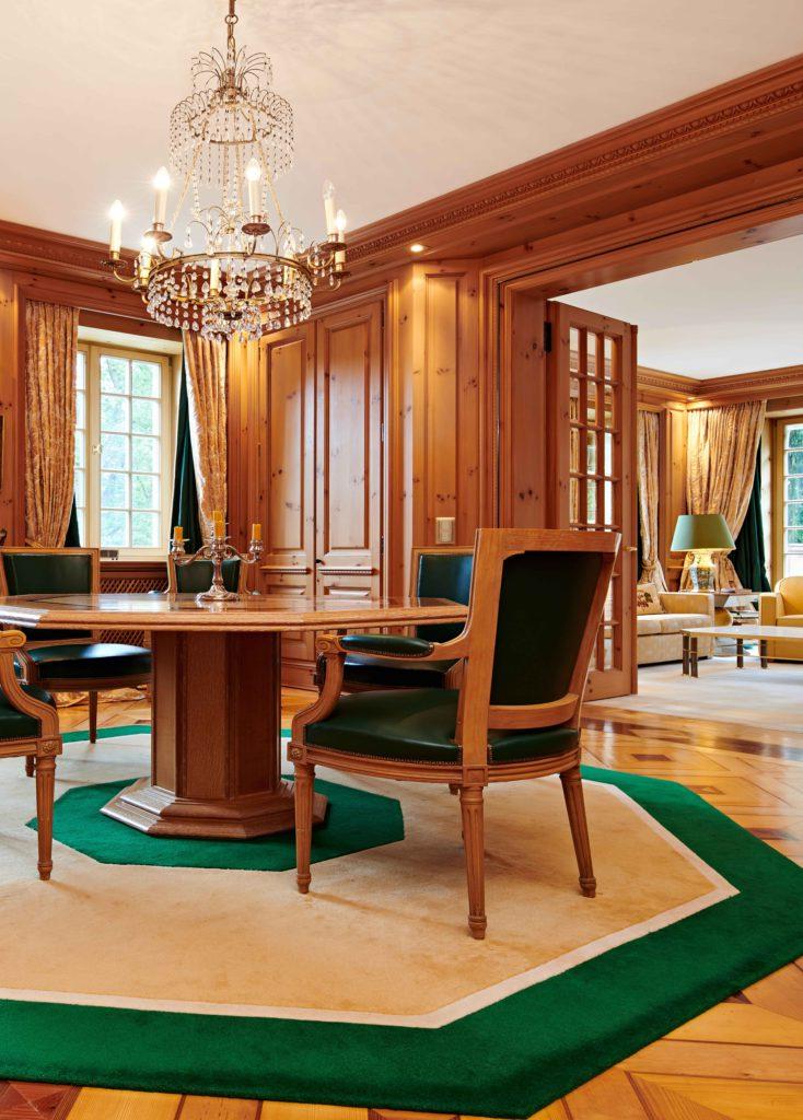 Villa einrichten Salon