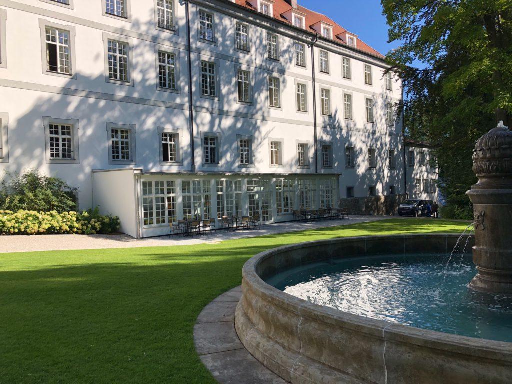 Klinik Kloster Dießen wEntergarten