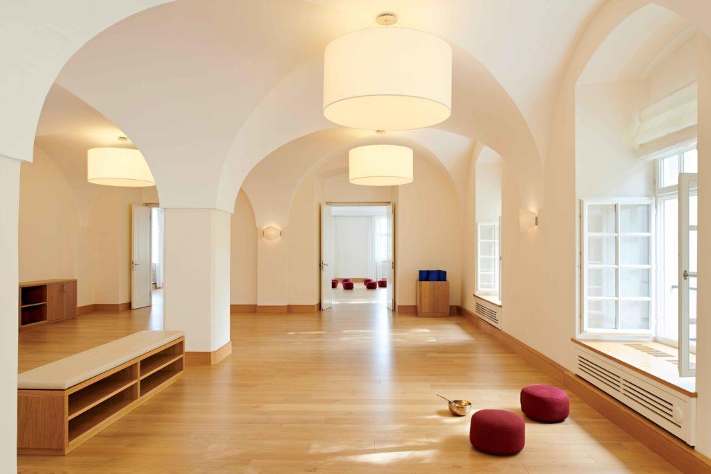 Psychosomatische Klinik Kloster Dießen Übungsraum